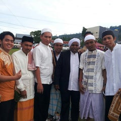 Photo taken at Masjid Jami' Manokwari by Baguz T. on 8/9/2013