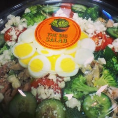 Photo taken at The Big Salad by Paige F. on 5/7/2013
