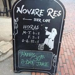 Photo taken at Novare Res Bier Cafe by Rori C. on 3/10/2013