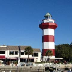 Photo taken at Harbour Town Lighthouse by Kevin C. on 11/23/2012