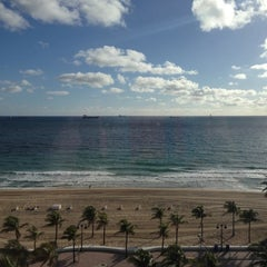 Photo taken at Courtyard by Marriott Fort Lauderdale Beach by Kristina K. on 12/7/2012