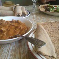 Photo taken at Gojo Ethiopian Restaurant by Brian G. on 9/6/2013