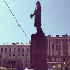 Photo taken at Памятник Добролюбову by Анжела К. on 5/15/2013