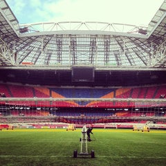 Photo taken at Amsterdam ArenA by Sander d. on 4/5/2013
