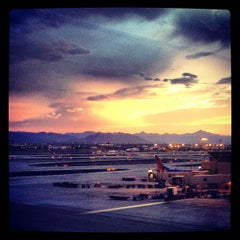 Photo taken at Phoenix Sky Harbor International Airport (PHX) by Jerome T. on 7/21/2013