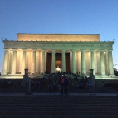 Photo taken at Lincoln Memorial by Carlos L. on 7/29/2013
