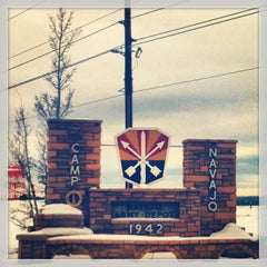 Photo taken at Camp Navajo, AZ Army National Guard by Melissa F. on 12/24/2012