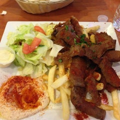 Photo taken at Shish Mediterranean Cuisine - Taste of Istanbul by GOKSEN S. on 7/9/2014