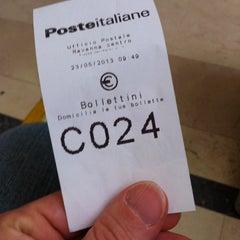 Photo taken at Poste Italiane by Fabrizio S. on 5/23/2013