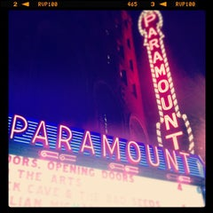 Photo taken at Paramount Theatre by Dave C. on 4/7/2013