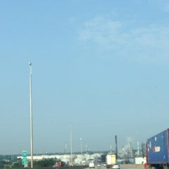Photo taken at I-75 Rouge River Bridge by hnygirl2000 on 7/30/2014