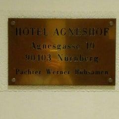 Das Foto wurde bei Hotel Agneshof von Brk am 9/28/2015 aufgenommen