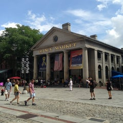 Photo taken at Quincy Market by Kristy O. on 7/29/2013