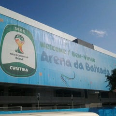 Photo taken at Arena da Baixada by Joehverson J. on 6/12/2014