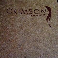 Photo taken at Crimson Lounge by Ashley S. on 5/18/2013