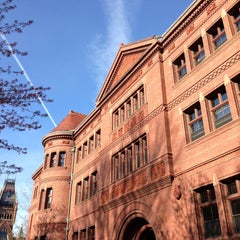 Photo taken at Sever Hall by Masashi S. on 4/24/2013