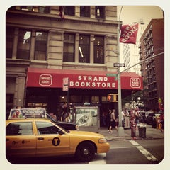 Photo taken at Strand Bookstore by Raymond E. on 6/23/2013