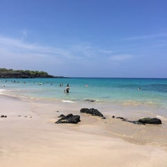 Photo taken at Hāpuna Beach State Recreation Area by Larry N. on 7/29/2015