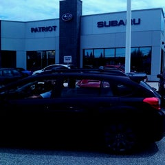 Photo taken at Patriot Subaru by Dale R. on 7/17/2014