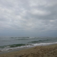Photo taken at Canet en Roussillon by Вадим Б. on 1/11/2014