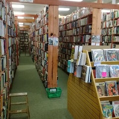 Photo taken at Downtown Books by etta b d. on 4/22/2014