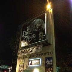Photo taken at Teatro Julio Prieto by Caroline M. on 11/18/2012