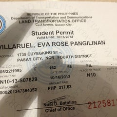 Photo taken at LTO- Pasay by Eve V. on 10/16/2013