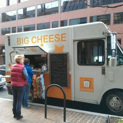 Photo taken at Big Cheese Truck by Alison J. on 12/22/2011