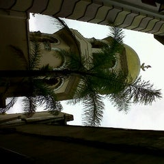 Photo taken at Grey Street Mosque by Hasina S. on 11/18/2011