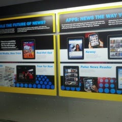 Photo taken at Newseum by Saurabh S. on 9/17/2012