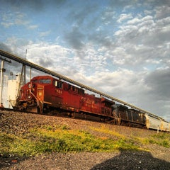 Photo taken at NS Elkhart Mainline Fuel Pad by Drew W. on 6/5/2013