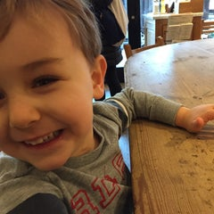 Photo taken at Le Pain Quotidien by Rebecca B. on 11/15/2014