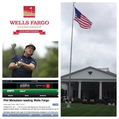 Photo taken at Wells Fargo Championship by Chris M. on 5/4/2013