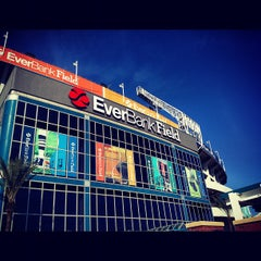 Photo taken at EverBank Field by Mike M. on 1/1/2013