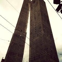 Photo taken at Torre Garisenda by Camilla M. on 6/9/2013