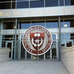 Photo taken at Darrell K. Royal-Texas Memorial Stadium by Jonathan C. on 5/3/2013