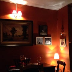 Photo taken at L'Auberge Espagnole by Sally C. on 3/25/2015