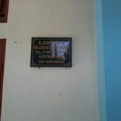 Photo taken at SMPN 4 Denpasar by Iluh S. on 9/26/2013