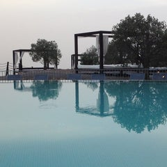 Photo taken at Sheraton Salobre Golf Resort & Spa by Antonio F. on 8/23/2013