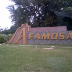 Photo taken at A'Famosa Main Entrance by Syada on 9/19/2014