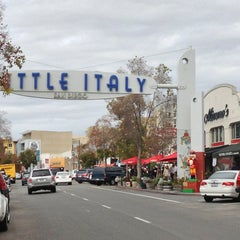 Photo taken at Little Italy by Amir G. on 12/29/2012