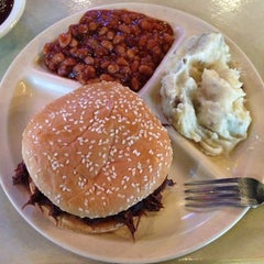 Photo taken at Big Al's Smokehouse BBQ by Tabytha J. on 3/8/2014