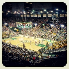 Photo taken at Patriot Center by Hef on 12/9/2012