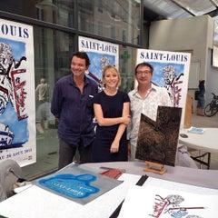 Photo taken at Les Halles de Sète by Emmanuelle R. on 8/23/2014