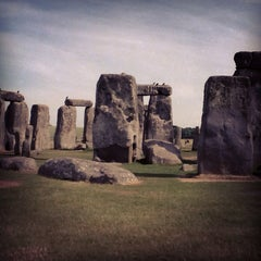 Photo taken at Stonehenge by Lana on 7/15/2013