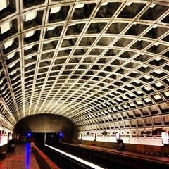 Photo taken at Metro Center Metro Station by Joseph V. on 7/4/2013