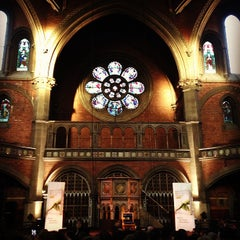 Photo taken at Union Chapel by Marshall M. on 4/15/2013