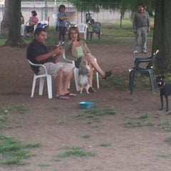 Photo taken at Sepulveda Basin Off-Leash Dog Park by Vanessa U. on 7/7/2013