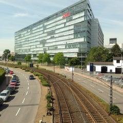 Photo taken at Bahnhof Frankfurt-Niederrad by Robert R. on 8/15/2013
