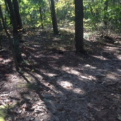 Photo taken at Crowders Mountain State Park by Jessica S. on 10/21/2014